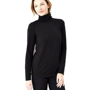 Pure Jill • Relaxed Pima Turtleneck